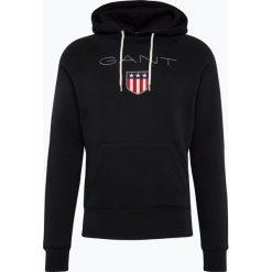 Gant - Męska bluza nierozpinana, czarny. Czarne bluzy męskie rozpinane GANT, m, z bawełny. Za 449,95 zł.
