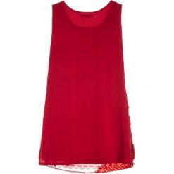 Sukienki dziewczęce z falbanami: Sisley DRESS Sukienka koktajlowa red