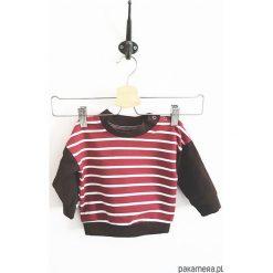 Bluza peach. Pomarańczowe bluzy niemowlęce marki Pakamera, z bawełny, z długim rękawem, długie. Za 73,00 zł.