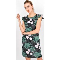 Sukienki: Sukienka tuba bez rękawków jungle