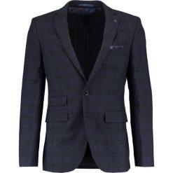 Burton Menswear London SLIM POW Marynarka garniturowa blue. Niebieskie marynarki męskie slim fit Burton Menswear London, z materiału. Za 459,00 zł.