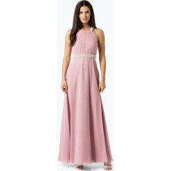 VM - Damska sukienka wieczorowa, różowy. Czerwone sukienki koktajlowe VM, z haftami. Za 999,95 zł.