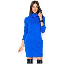 Numinou Sukienka Damska 40 Niebieski. Niebieskie sukienki hiszpanki Numinou, z golfem. Za 189,00 zł.