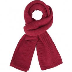 """Szal """"Mopli"""" w kolorze czerwonym - 280 x 80 cm. Czerwone szaliki damskie Scottage, z materiału. W wyprzedaży za 40,95 zł."""