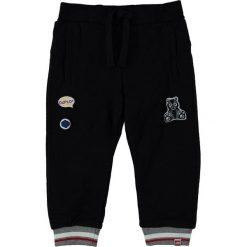 """Spodnie niemowlęce: Spodnie dresowe """"Parkin 701"""" w kolorze czarnym"""