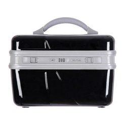 Kosmetyczki męskie: Kufer kosmetyczny w kolorze czarnym – 14 l