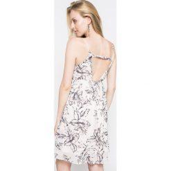 Vila - Sukienka. Szare sukienki balowe marki Vila, l, z materiału, mini, dopasowane. W wyprzedaży za 69,90 zł.