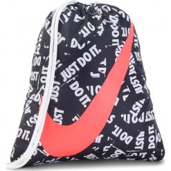 Plecak NIKE - BA5262 023. Czarne plecaki damskie Nike, z materiału, sportowe. Za 49,00 zł.