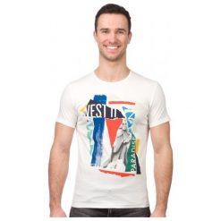 Pepe Jeans T-Shirt Męski Kwesi Xxl Kremowy. Białe t-shirty męskie marki Pepe Jeans, m, z jeansu. W wyprzedaży za 108,00 zł.