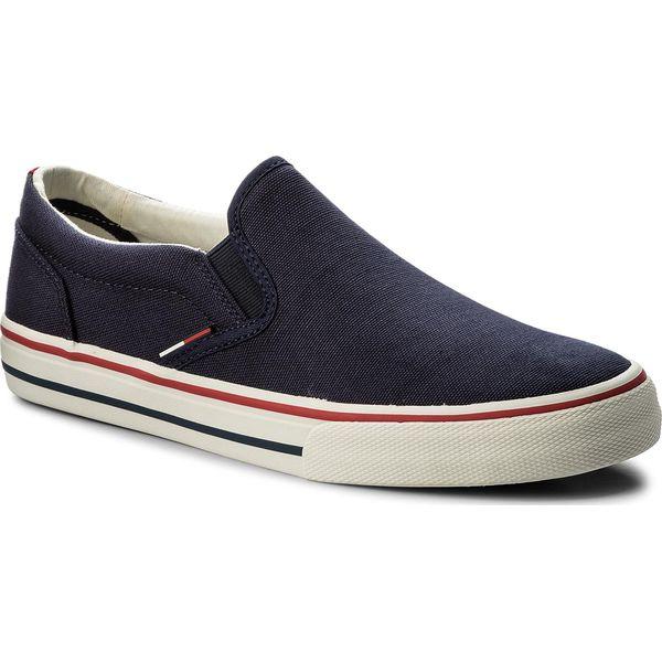 d4b21a16c9c51 Buty męskie Tommy Jeans - Promocja. Nawet -80%! - Kolekcja wiosna 2019 -  myBaze.com