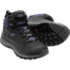 Buty trekkingowe damskie: Keen Buty trekkingowe damskie TERRADORA PULSE MID WP kolor czarno-niebieski r. 37 (TERRADMWPU-WN-BKMG)