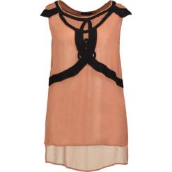 Bluzki asymetryczne: Sisley Bluzka brown