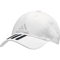 Czapki damskie: Adidas  Czapka z daszkiem damska 6P 3S Cap Cotton Biała r. OSFW