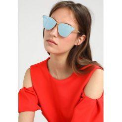 Okulary przeciwsłoneczne damskie: McQ Alexander McQueen Okulary przeciwsłoneczne goldcoloured/lightblue