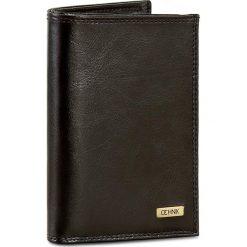 Duży Portfel Męski OCHNIK - SL-158 Czarny. Czarne portfele męskie marki Ochnik, l, z materiału. W wyprzedaży za 169,00 zł.