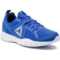 Buty Reebok - 3D Fusion Tr CN6576 Cobalt/Navy/White/Silver. Szare buty fitness męskie marki Reebok, l, z dzianiny, z okrągłym kołnierzem. Za 179,00 zł.