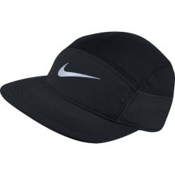 Czapki męskie: Nike Czapka męska M'S Run Zip AW84  czarna (778363 010)