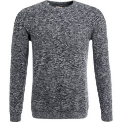 Swetry klasyczne męskie: Selected Homme SHNNEWVINCE BUBBLE CREW NECK Sweter caviar/twisted with egret