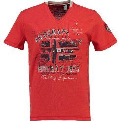 """T-shirty męskie z nadrukiem: Koszulka """"Jouri"""" w kolorze czerwonym"""