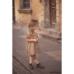 Sukienka Willow Beżowy. Brązowe sukienki dziewczęce z falbanami Pakamera, ze sztruksu. Za 179,00 zł.
