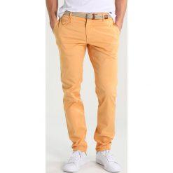 Chinosy męskie: Cortefiel Spodnie materiałowe yellows