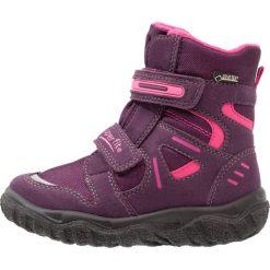 Superfit HUSKY Śniegowce eggplant. Fioletowe buty zimowe damskie marki Superfit, z materiału. W wyprzedaży za 224,25 zł.