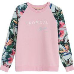 Bluzy rozpinane damskie: BLUZA SINDI NEW PINK