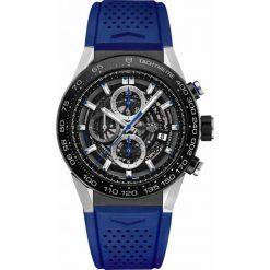 ZEGAREK TAG HEUER CARRERA CAR2A1T.FT6052. Czarne zegarki męskie marki KALENJI, ze stali. Za 22700,00 zł.