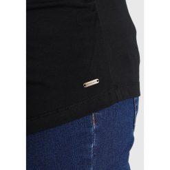 Bluzki asymetryczne: bellybutton TIMEA Bluzka z długim rękawem black onyx