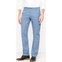 Spodnie męskie: Spodnie chino krój slim Alpha Stretch Khaki