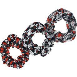 Harley Quinn Diamond Gumka do włosów czarny/czerwony/biały. Białe ozdoby do włosów Harley Quinn. Za 79,90 zł.