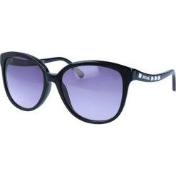 """Okulary przeciwsłoneczne damskie aviatory: Okulary przeciwsłoneczne """"JC590S 01B"""" w kolorze czarnym"""