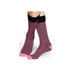 Skarpetki Happy Socks Dressed DIH34-3000. Czarne skarpetki męskie Happy Socks, z bawełny. Za 56,00 zł.