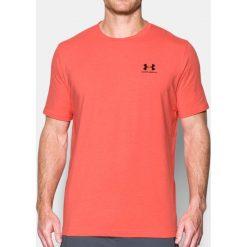 Under Armour Koszulka męska CC Left Chest Lockup Łososiowa r. L (1257616-872). Czerwone koszulki sportowe męskie marki Under Armour, l. Za 69,20 zł.