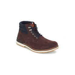 Buty Tommy Hilfiger  OUTDOOR SUEDE BOOT. Brązowe buty trekkingowe męskie TOMMY HILFIGER, outdoorowe. Za 619,00 zł.