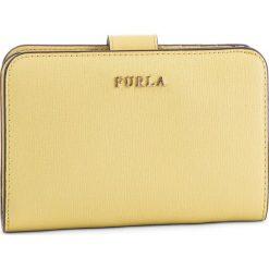 Duży Portfel Damski FURLA - Babylon 992611 P PR85 B30 Sole f. Żółte portfele damskie Furla, ze skóry. Za 620,00 zł.