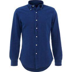 Polo Ralph Lauren OXFORD SLIM FIT Koszula indigo. Szare koszule męskie slim marki Polo Ralph Lauren, l, z bawełny, button down, z długim rękawem. Za 459,00 zł.