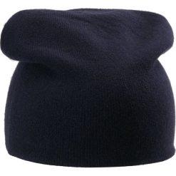 Johnstons Cashmere Czapka blue wash navy. Niebieskie czapki damskie Johnstons Cashmere, z kaszmiru. Za 409,00 zł.