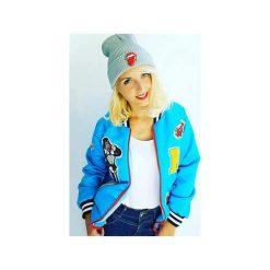 Bomberki damskie: Kurtka KONG GIRL niebieska