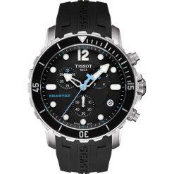 PROMOCJA ZEGAREK TISSOT T-SPORT T066.417.17.057.00. Czarne zegarki męskie marki TISSOT, ceramiczne. W wyprzedaży za 2156,00 zł.