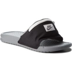 Klapki NIKE - Benassi Jdi Fanny AO1037 001 Black/Cool Grey/Summit White. Czarne klapki męskie Nike, z materiału. W wyprzedaży za 179,00 zł.