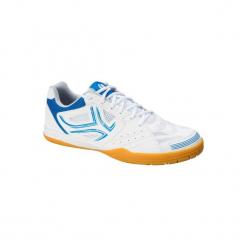 Buty Do Tenisa Stołowego Tts 500. Białe buty do tenisa męskie marki ARTENGO, z gumy. Za 119,99 zł.