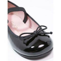 Pretty Ballerinas Baleriny z zapięciem black. Czarne baleriny dziewczęce marki Pretty Ballerinas. Za 369,00 zł.