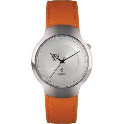 Zegarki damskie: Zegarek damski Dressed pomarańczowy skórzany pasek