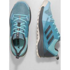 Adidas Performance TERREX TRACEROCKER  Obuwie hikingowe blue. Niebieskie buty trekkingowe damskie adidas Performance, z gumy, outdoorowe. W wyprzedaży za 189,50 zł.