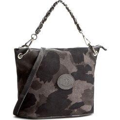 Torebka CREOLE - K10315 Czarny/Szary. Szare torebki klasyczne damskie Creole, ze skóry, duże. W wyprzedaży za 169,00 zł.