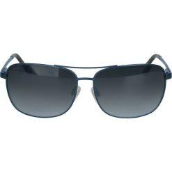 Okulary przeciwsłoneczne męskie aviatory: Granatowe okulary z polaryzacją