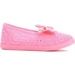 Buty sportowe dziewczęce: Różowe Tenisówki Happy Thrill