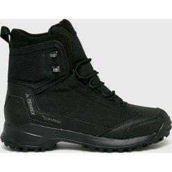 Adidas Performance - Buty Terrex Frozetrack. Brązowe buty trekkingowe męskie adidas Performance, z materiału, na sznurówki, outdoorowe, climaproof (adidas). W wyprzedaży za 499,90 zł.