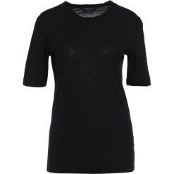 Bruuns Bazaar SILLE TOP Tshirt basic black. Czarne t-shirty damskie Bruuns Bazaar, z bawełny. Za 249,00 zł.